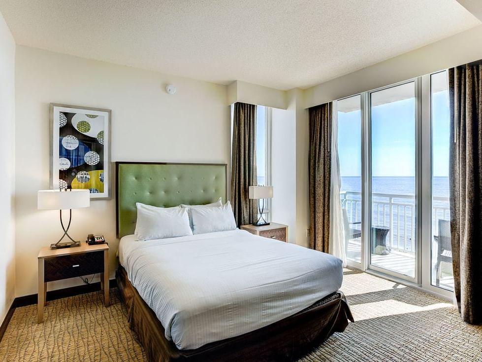 Oceanfront one bedroom suite at Diamond Resorts Virginia Beach