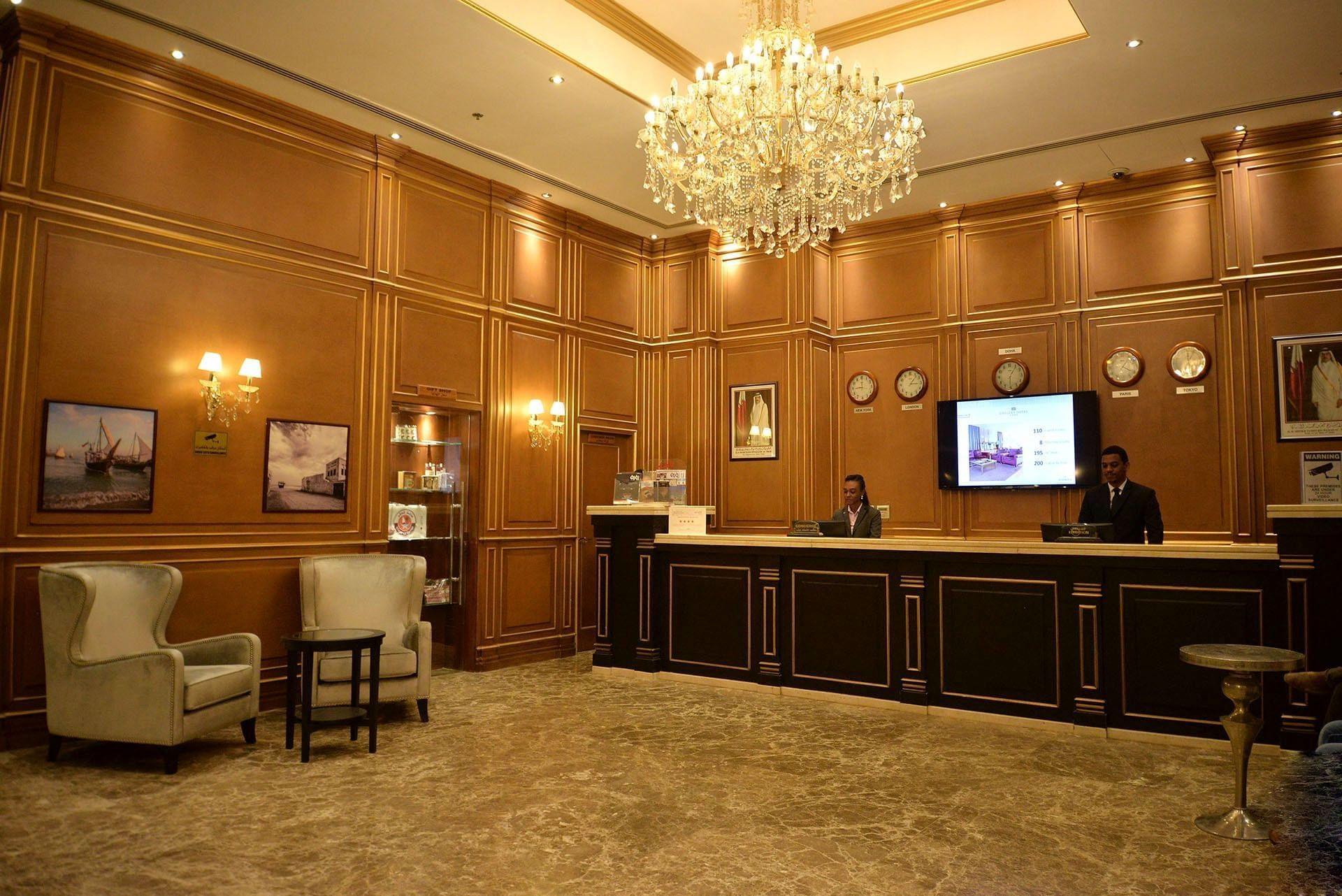 Strato Hotel by Warwick Reception