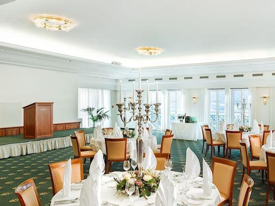 Meeting Room at Romantik Hotel Schloss Pichlarn