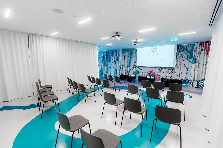 Events room at Hotel Lev in Ljubljana