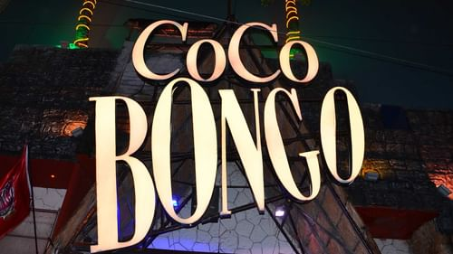 Coco bongo night club near The Reef Resorts
