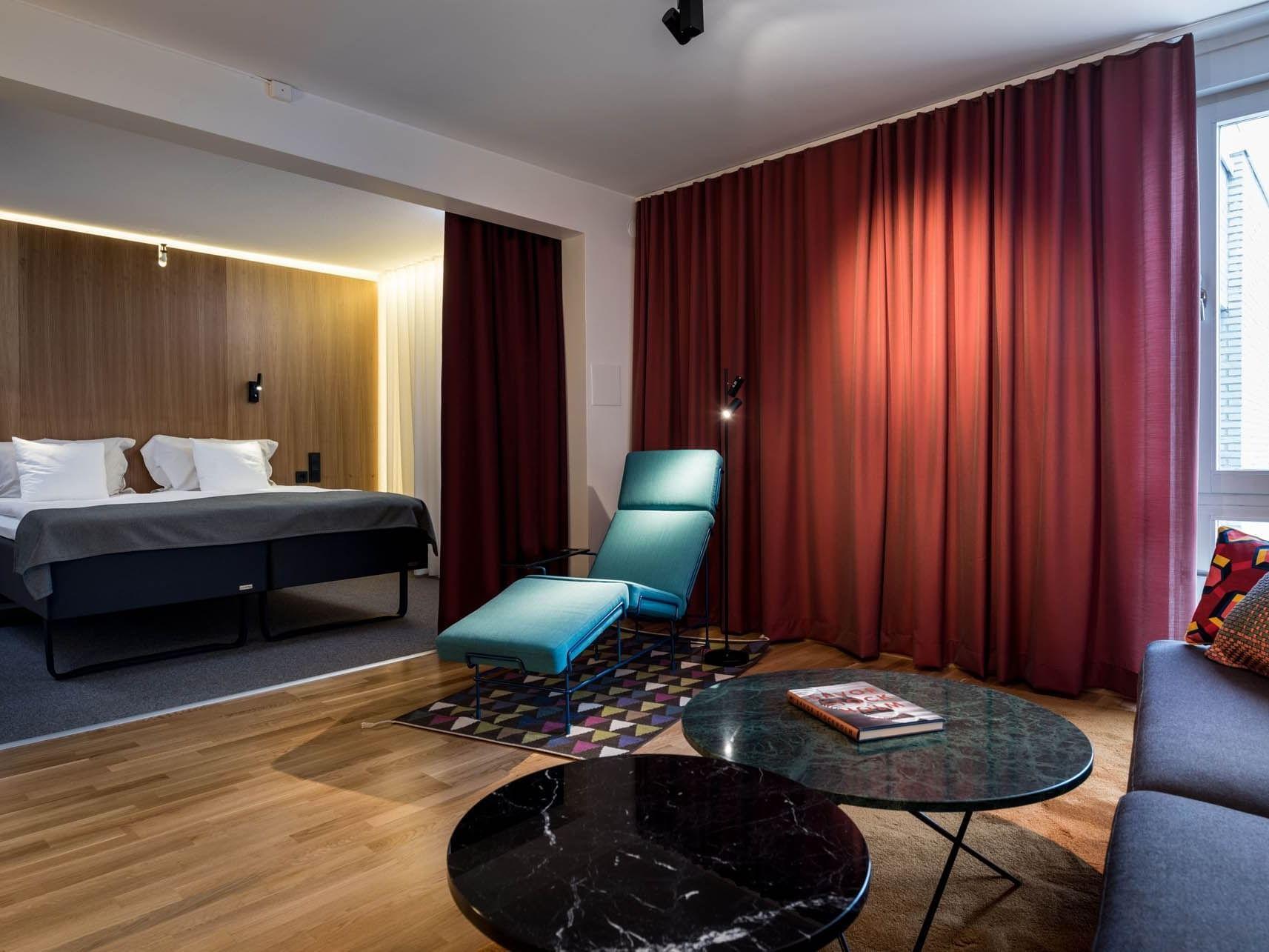 Suite at Hotel Birger Jarl in Stockholm, Sweden