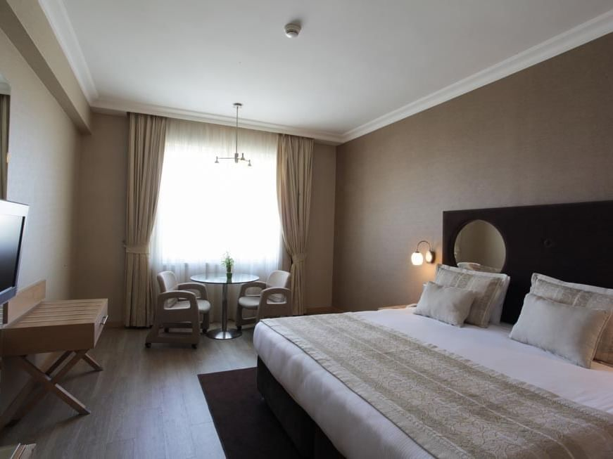 WOW Airport Hotel Standard Room French Bed at Wow Hotels Group