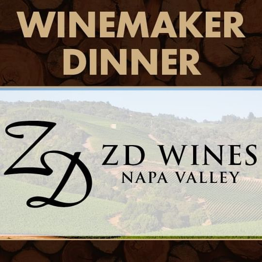 Winemaker Dinner with ZD Wines Logo