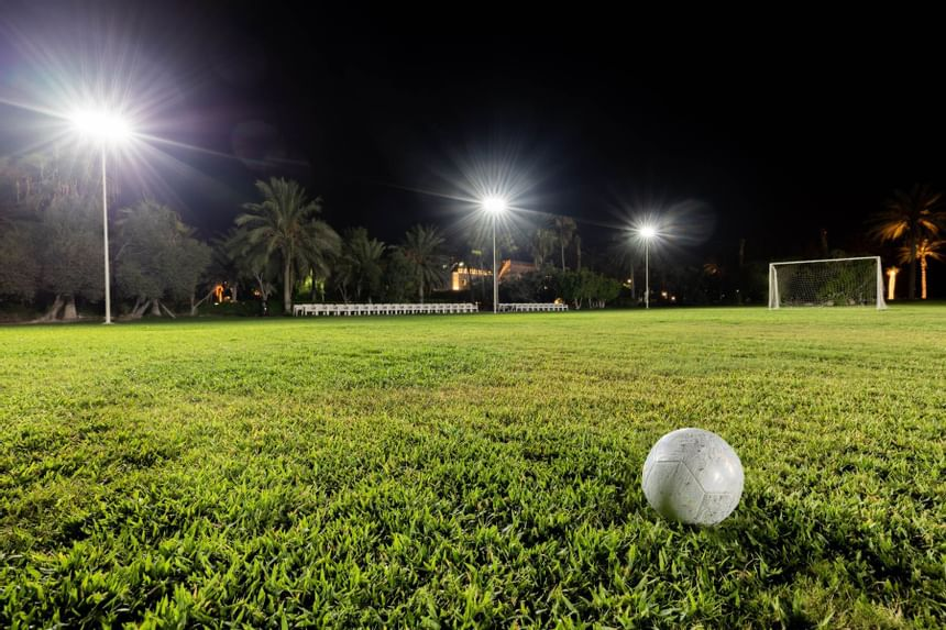 Football Court in Sealine Beach Resort
