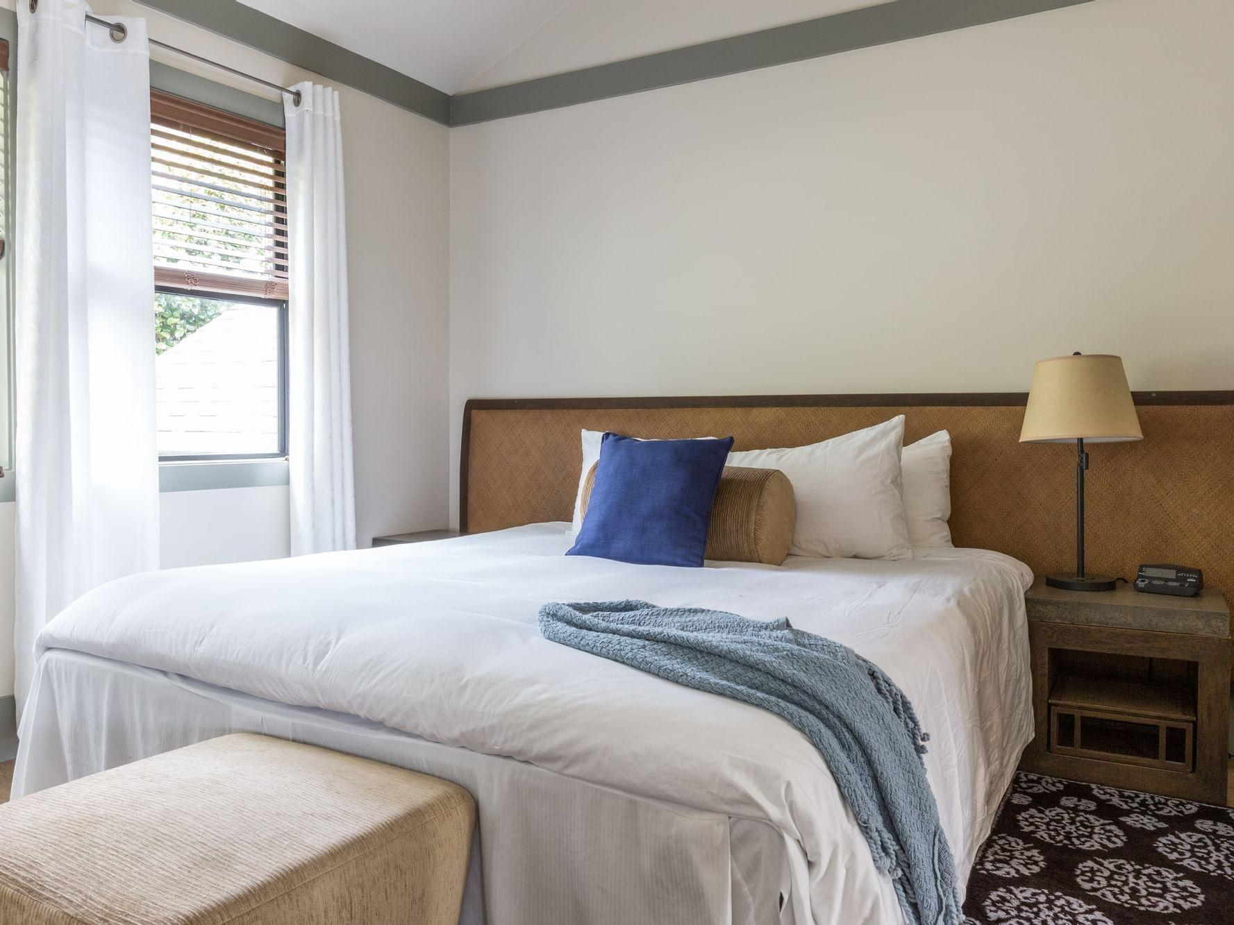 Bedroom of Two Bedroom Suite at Heritage House Resort