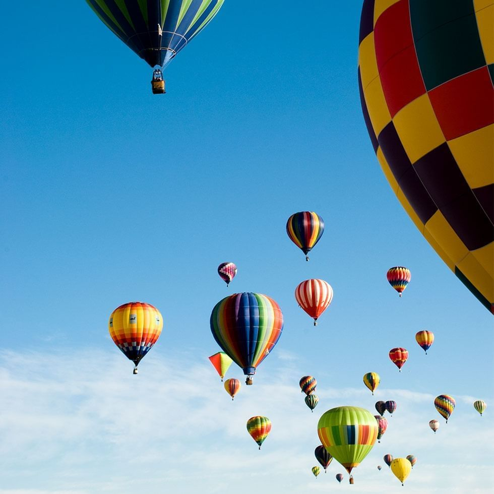 Hot Air Balloon Rides near Falkensteiner Hotels and Residences