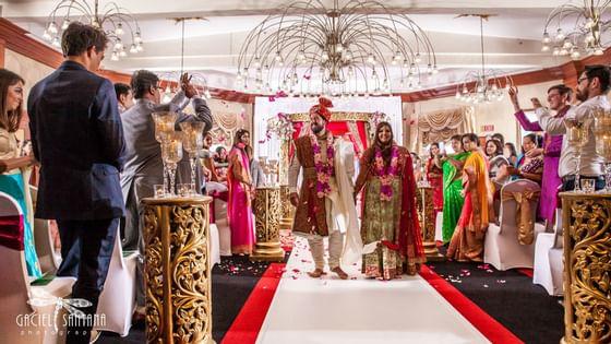 Indian wedding in Daytona Beach at The Plaza Resort & Spa