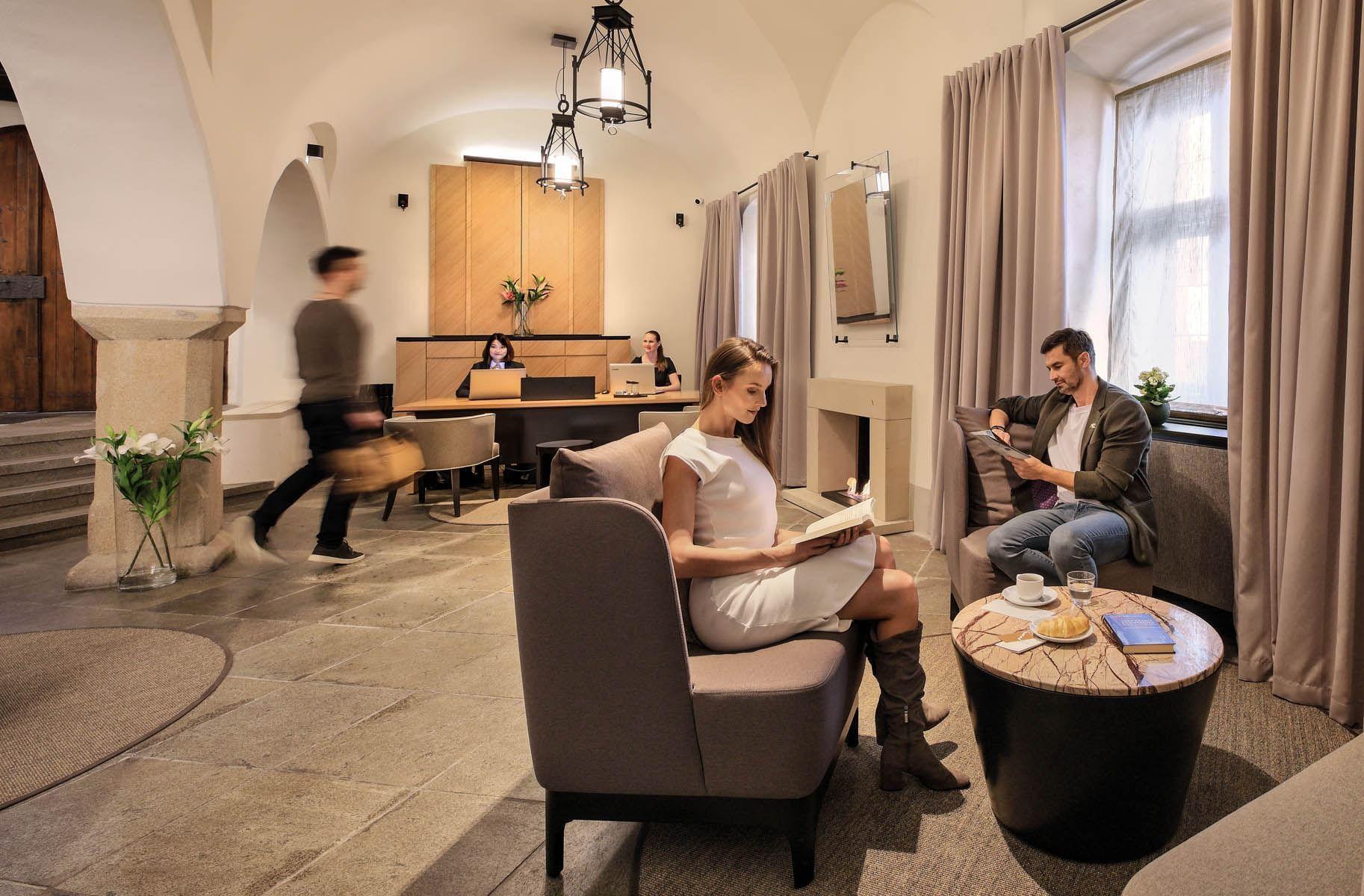 Hotel Leonardo Lobby, Jan Hotels, Czech Republic