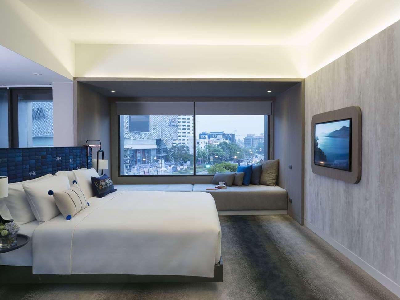 Premium Deluxe Corner room at U Hotels and Resorts