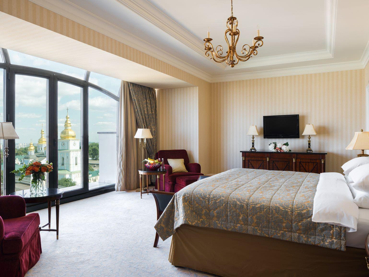 Best Club King Executive  at Intercontinental Kyiv hotel