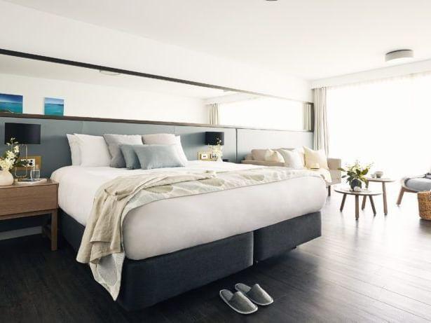 Deluxe Ocean Terrace Resort Room at Daydream Island Resort