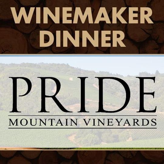 Winemaker Dinner with Pride Mountain Vineyards Logo