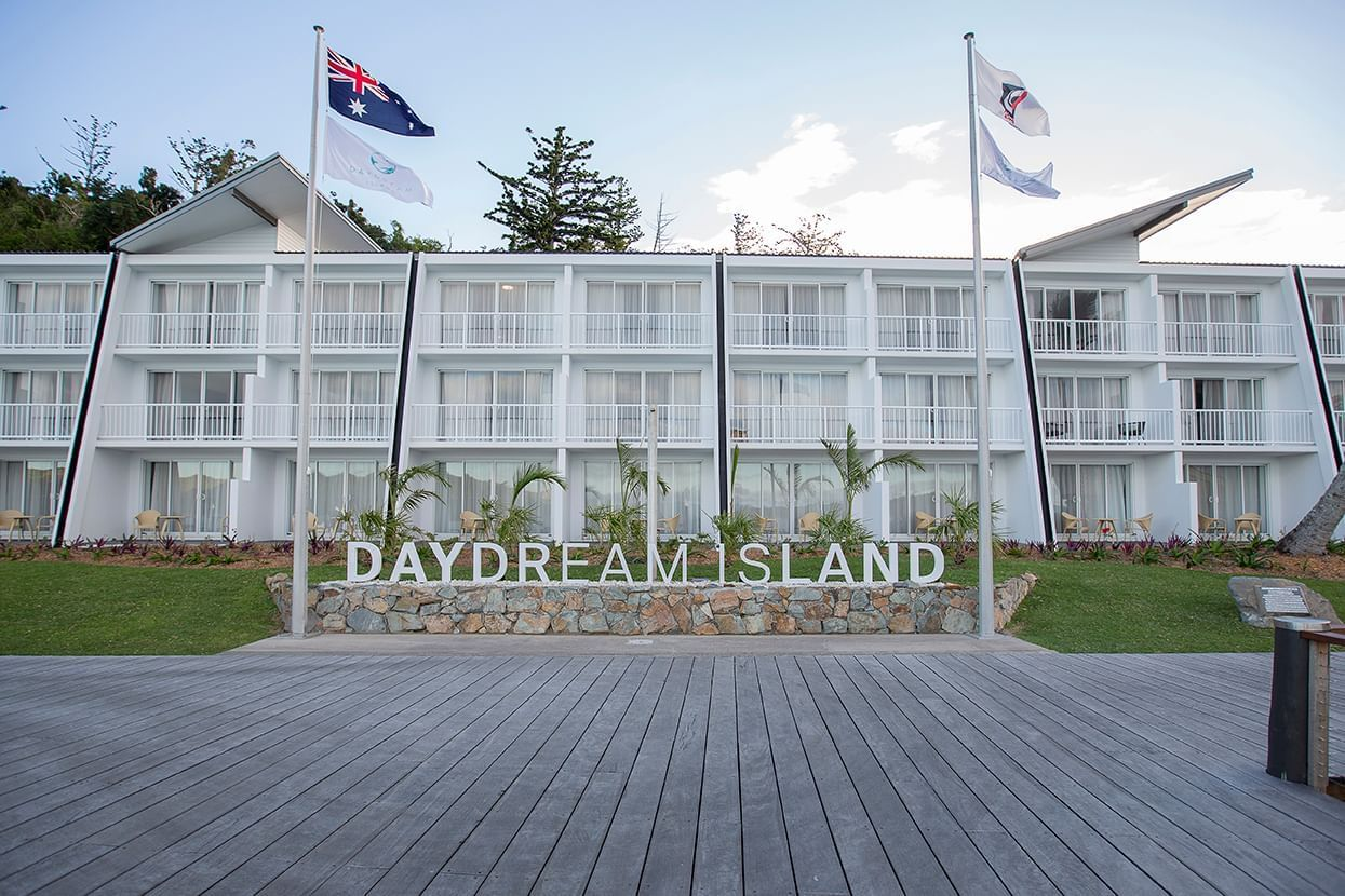 Front exterior view of Daydream Island Resort