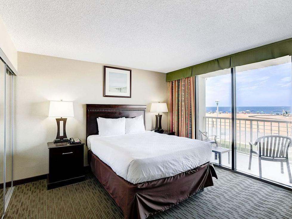 One bedroom oceanfront at Diamond Resorts Virginia Beach