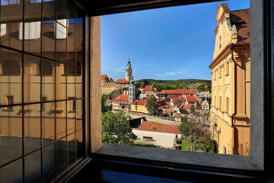 Hotel Ruze, Český Krumlov, Czech Republic