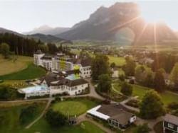 Schloss Hotel Pichlarn Drone View