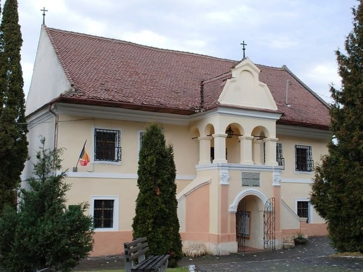 Museum of the first Romanian school near Ana Hotels in Romania