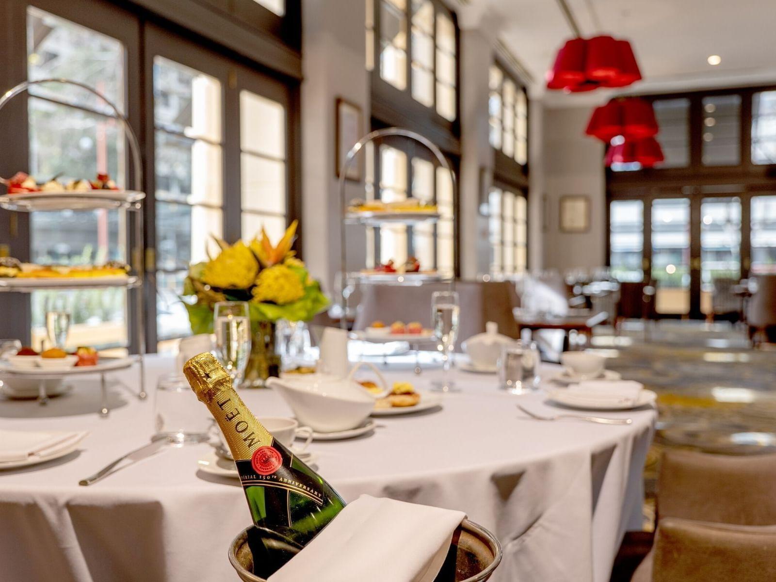 High tea Restaurant  in Duxton Hotel Perth