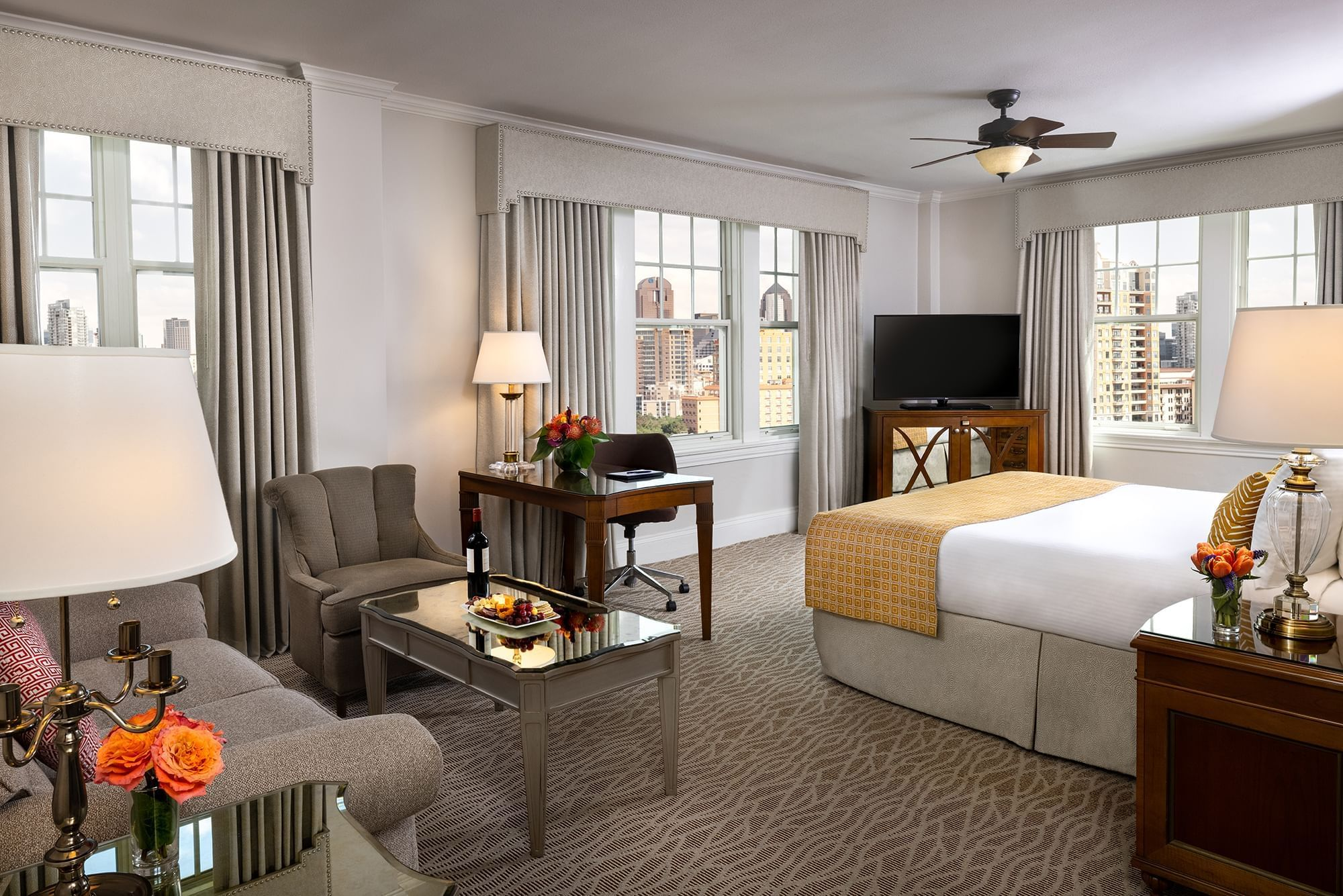 Corner King Room Warwick Melrose Dallas