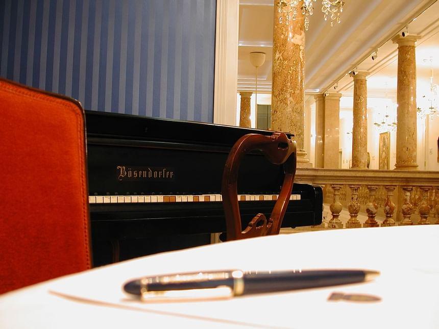 Meeting room detail at Ambassador Hotel in Vienna