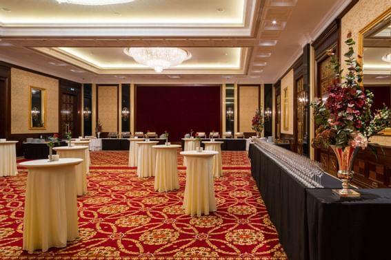 The Grand Ballroom at Intercontinental Kyiv hotel