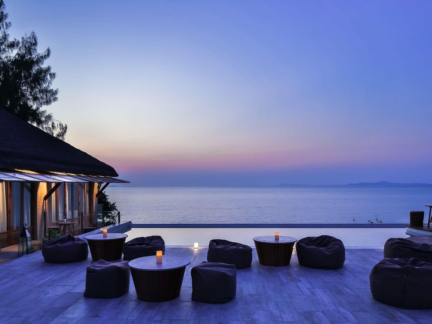 Le Vela Rooftop Bar  at U Hotels and Resorts