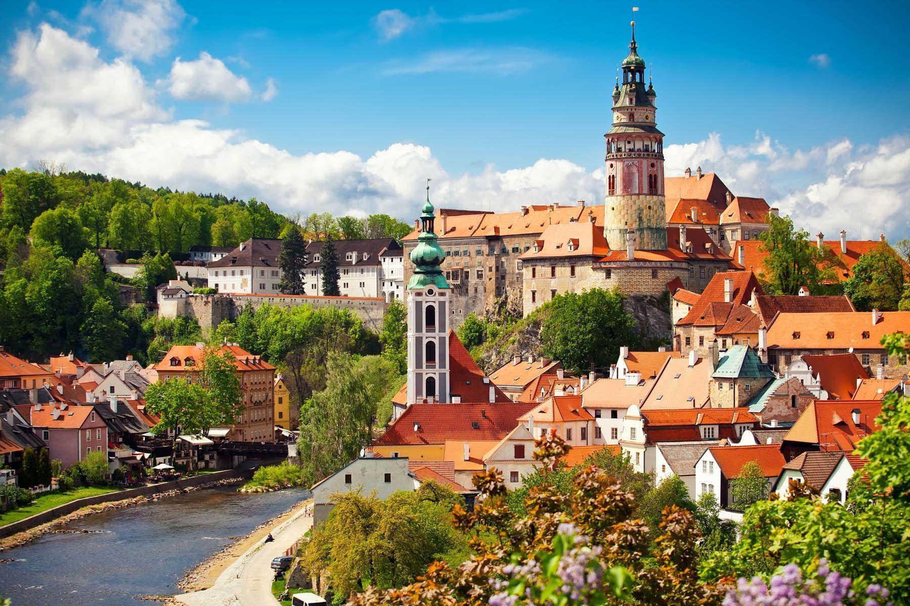 Castle Cesky Krumlov, Jan Hotels, Czech Republic