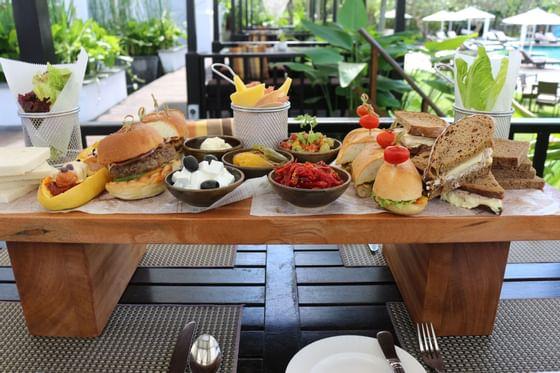 Jumbo Mixed Sandwich Platter in Straits & Co at Danna Langkawi