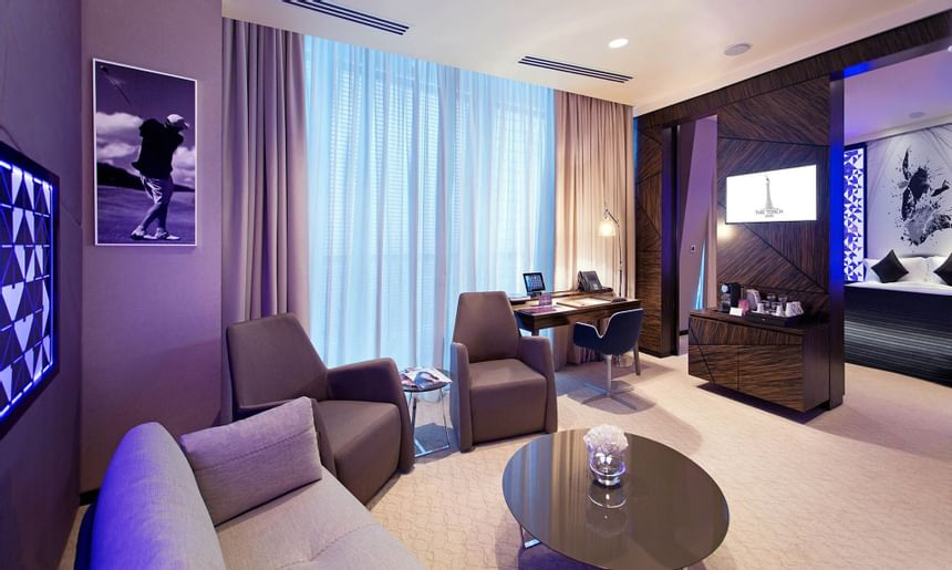 Junior Suite at The Torch Doha Hotel in Qatar
