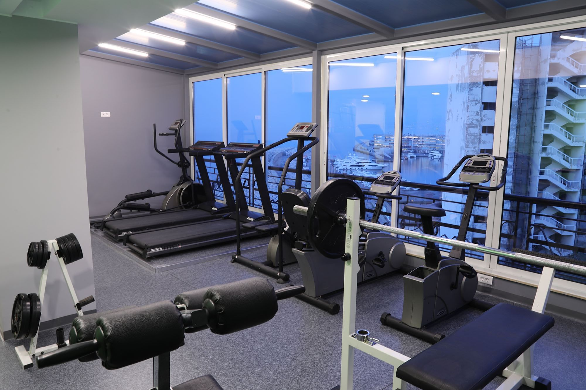 Fitness Area with View