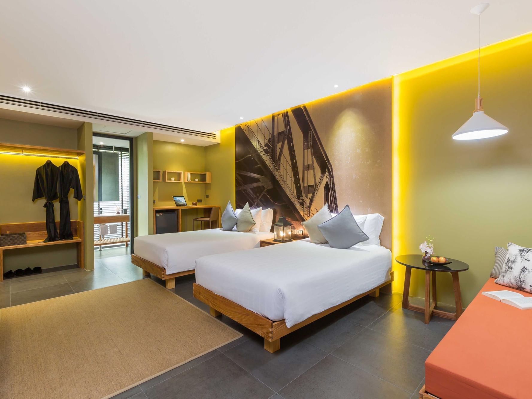 Deluxe Family room at U Hotels and Resorts