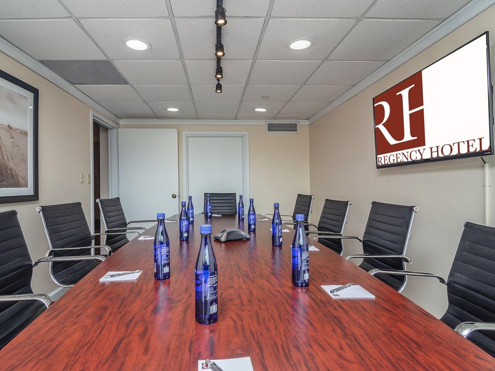 sala executiva com tv