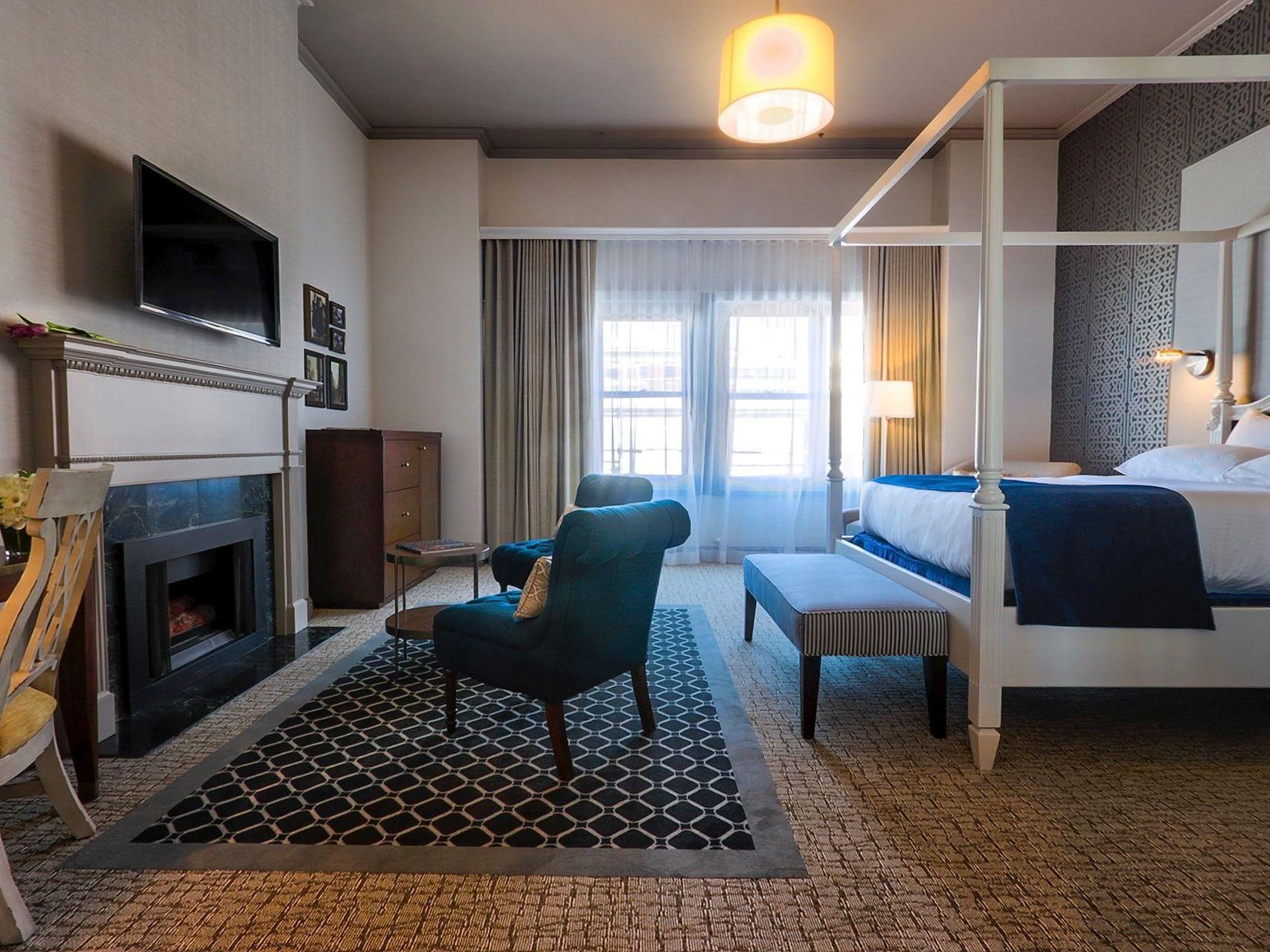 Loft Fireplace Suite