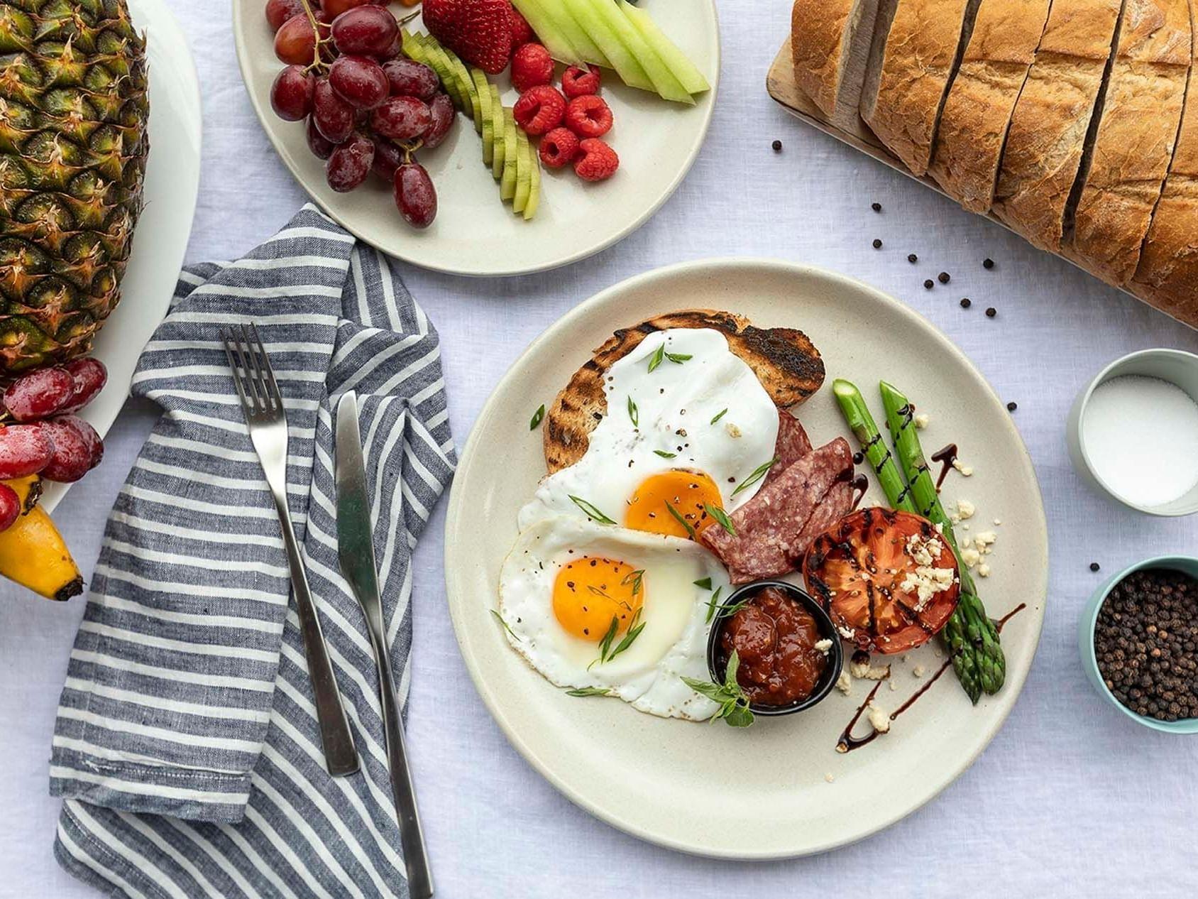 Breakfast served in Graze Restaurant at Daydream Island Resort