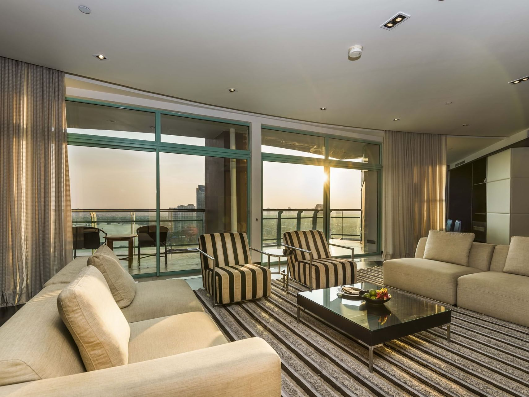 View of Premiere Suite Two Bedroom at Chatrium Hotel Riverside