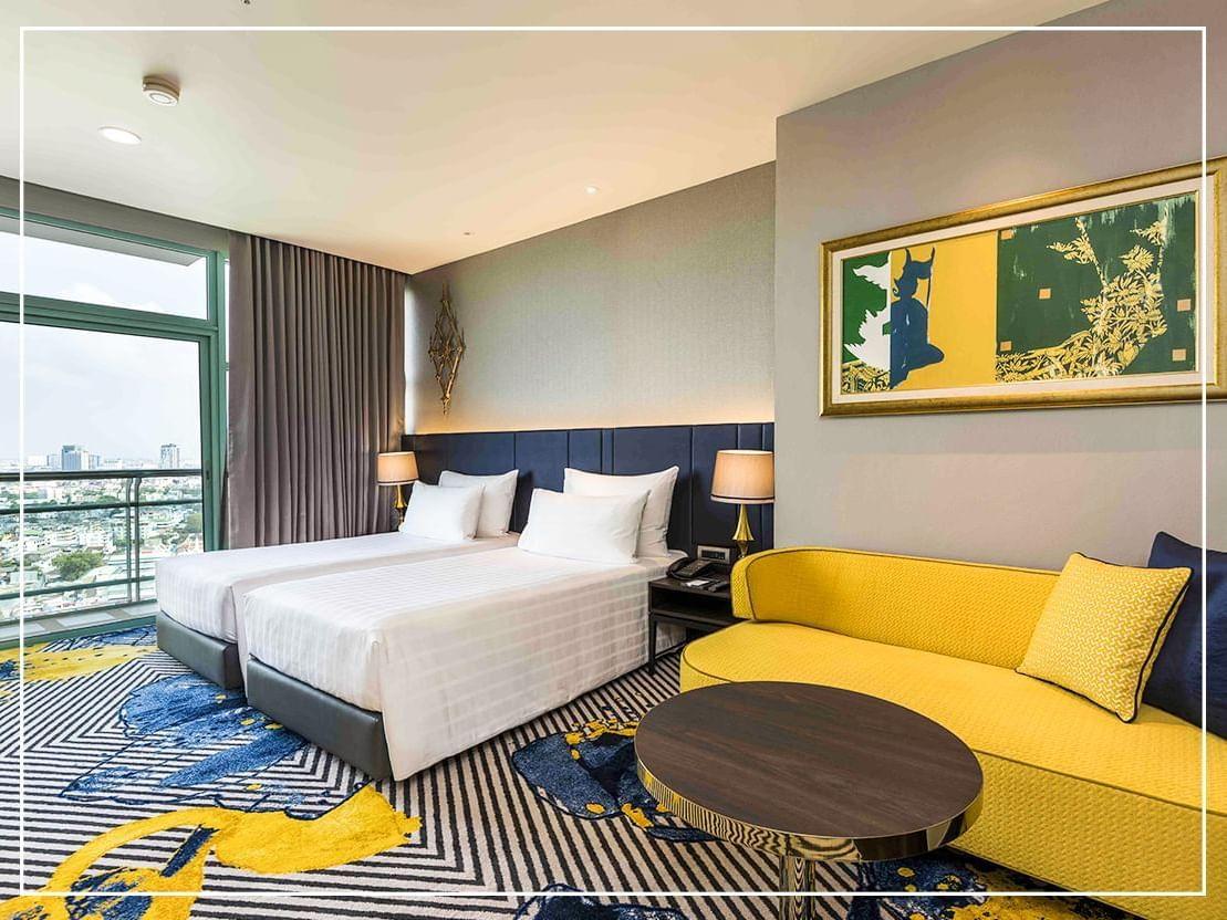 Grand Room Skyline River View at Chatrium Hotel Riverside Bangkok