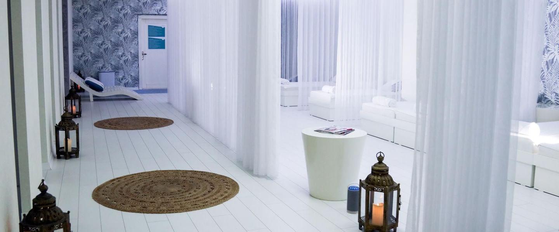 Interior view of the Spa at Design Plus Seya Beach Hotel