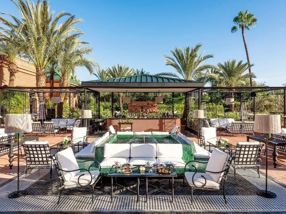Le Bar Selman at Selman Marrakech Hotel