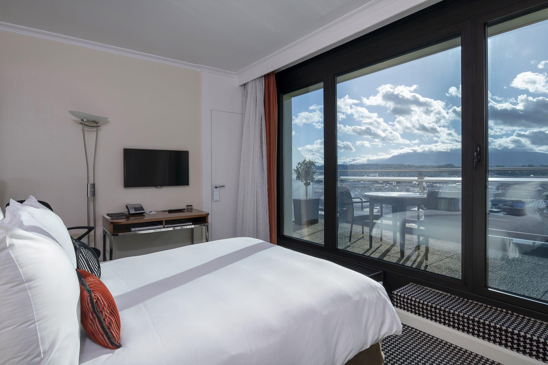 Chambre Penthouse avec terrasse Warwick Geneva