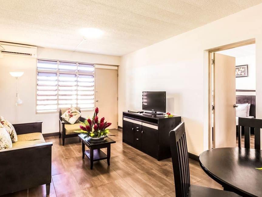 Suite Living Area at Tokatoka Resort