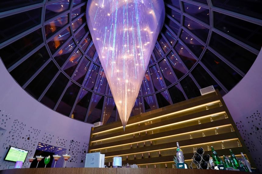 Sky Lounge at The Torch Doha Hotel in Qatar