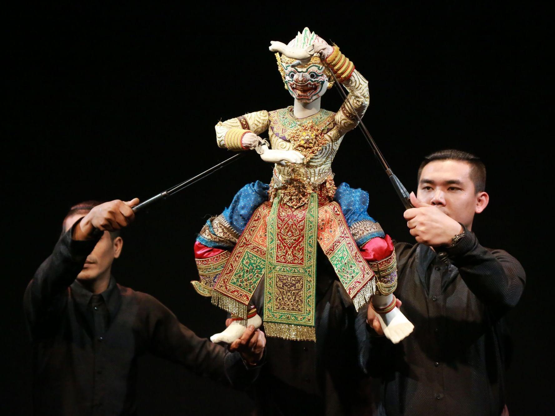 Joe Louis Traditional Thai Puppet Theatre near Chatrium Hotel Riverside Bangkok