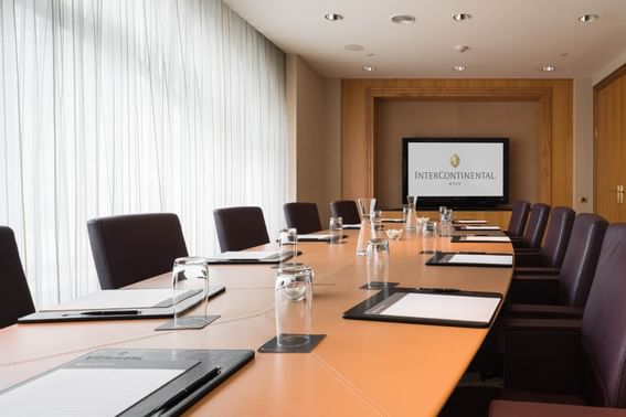 Podol private meeting rooms at Intercontinental Kyiv hotel