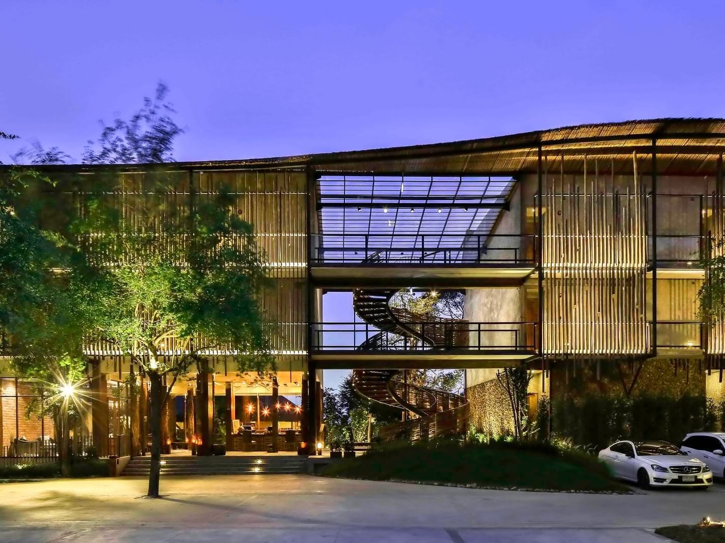 Hotel Façade of U Pattaya at U Hotels and Resorts