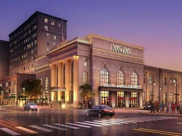 MGM Springfield resort casino near Simsbury 1820 House