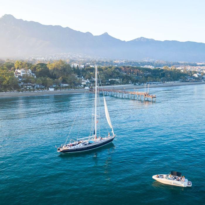 Sailing the Mediterranean with Marbella Club Hotel