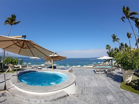 Relax area at Sunset Plaza Beach Resort