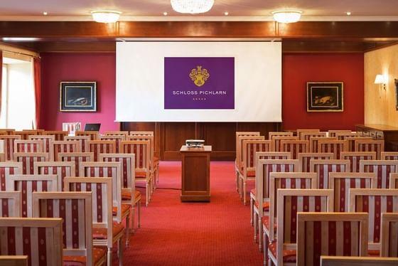 Event Room at Schloss Pichlarn Hotel in Austria
