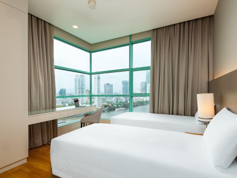 Premier two bedroom at Chatrium Residence Riverside Bangkok